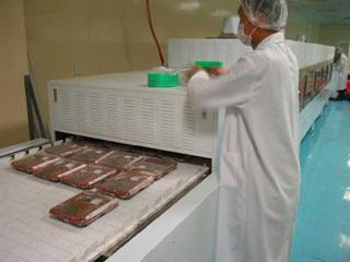 微波卤菜杀菌设备