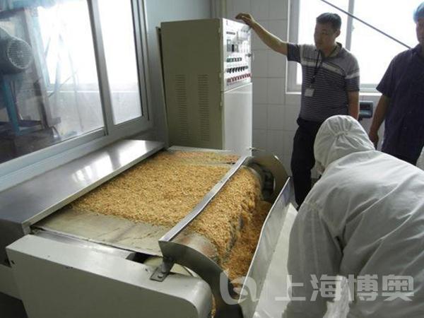 食品微波干燥杀菌设备