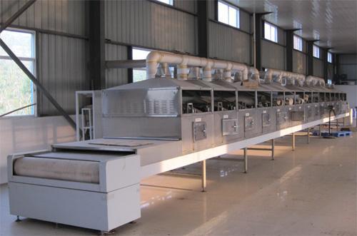 微波烘烤机在面制品加工中的应用有哪些呢?