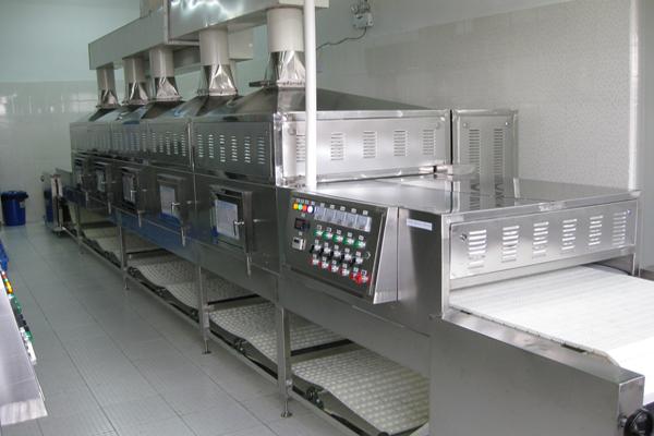 【技术】微波干燥设备功率对产品干燥效果的影响