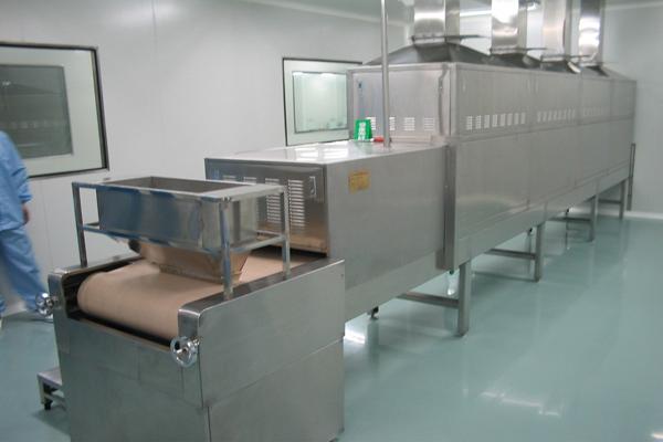 微波干燥杀菌设备在中药生产的应用