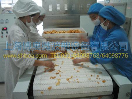 微波堅果烘烤設備案例-干果及堅果類