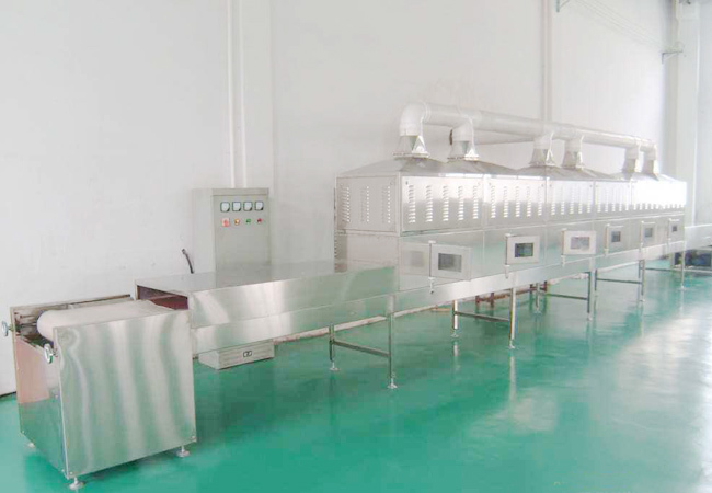 隧道式微波干燥机工作原理加热技术