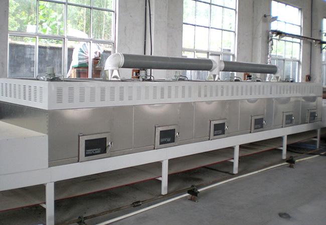 五谷杂粮玉米微波烘烤干燥机械安全可靠