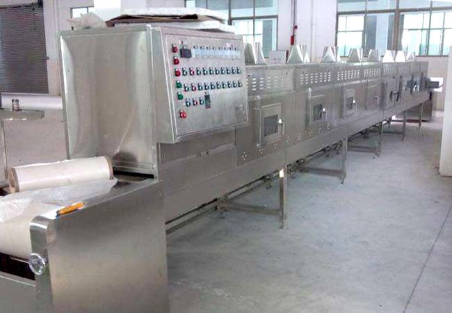 隧道式微波杀菌机设备技术特点
