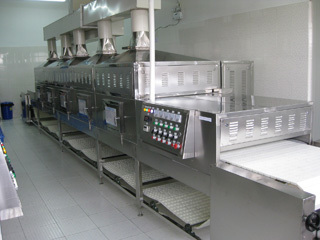 微波河粉烘干設備