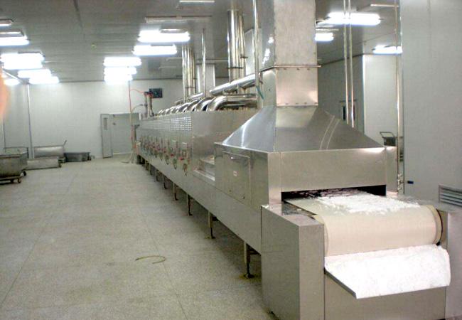 微波米飯蒸煮設備