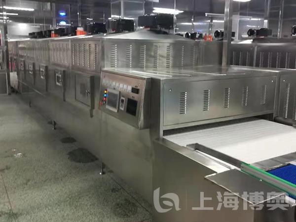 熱鏈盒飯加熱微波殺菌設備